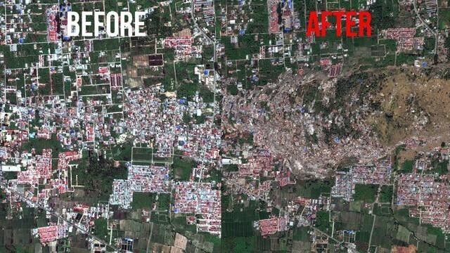 Depremler yerleşim yerlerinde büyük değişimlere yol açar.
