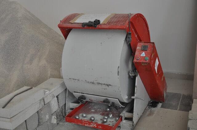 Los Angeles Deneyinde kullanılacak makine
