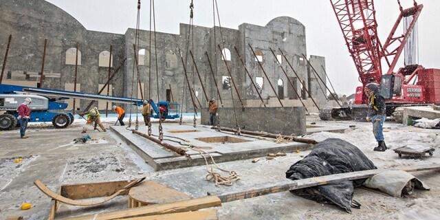 10°C'nin altı beton dökümü için soğuk hava olarak kabul edilir.