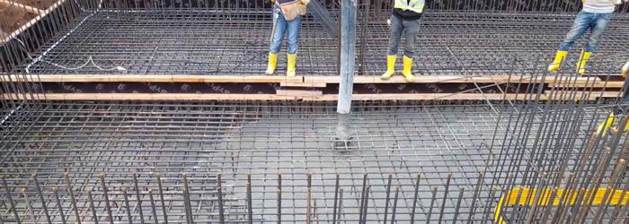 Kendiliğinden yerleşen beton deneyleri