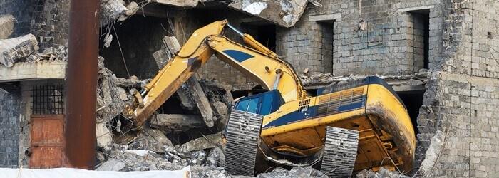 Şantiyelerde iş kazası