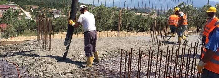 Su miktarı beton