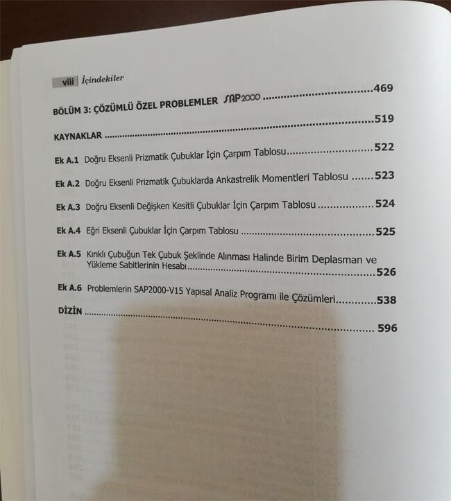 Yapı Statiği Kitabı